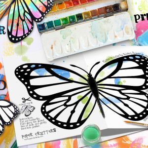 butterfly art projects