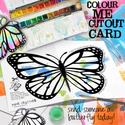 butterfly art projects