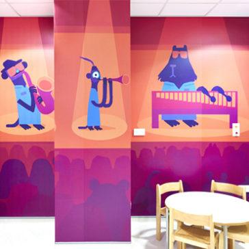 Colourful Wonderland Ward for Children in Hospital