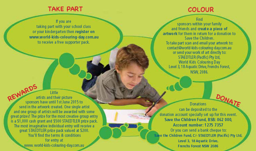 world kids colouring day 2015