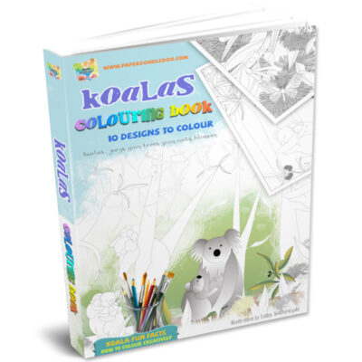 Koala Colouring Sheets