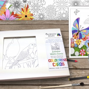 aussie animals colouring pages