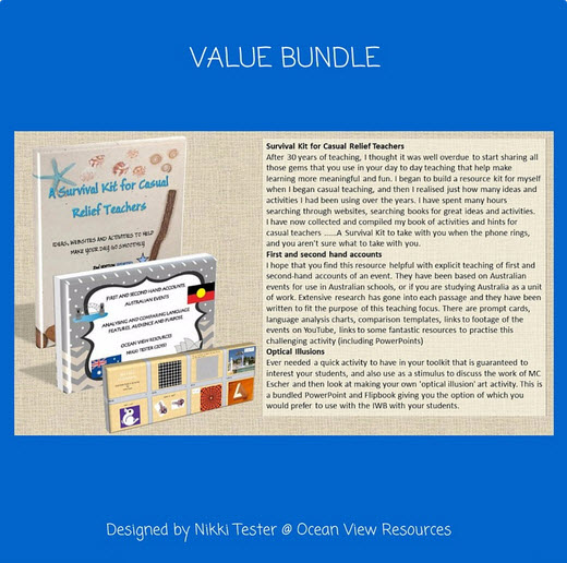 Value Bundle Survival Kit for Casual Relief Teachers
