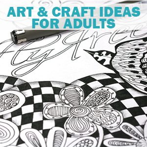 art ideas for adults