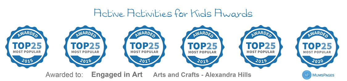 weekly art classes for kids