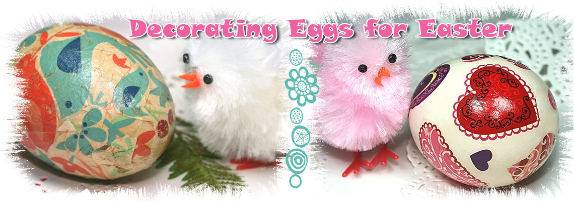 decorating eggs for easter