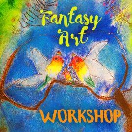 fantasy art workshop, art classes for kids, art classes for kids in redlands, art classes for kids brisbane, engaged in art, engaged in art classes for kids