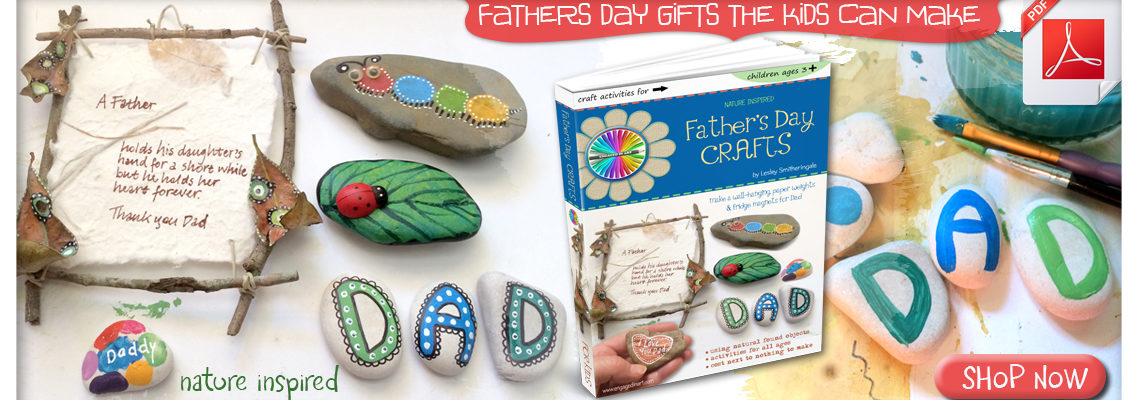 fathers day gifts kids can make - engaged in art
