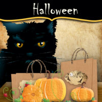 halloween crafts for kids - engaged in art