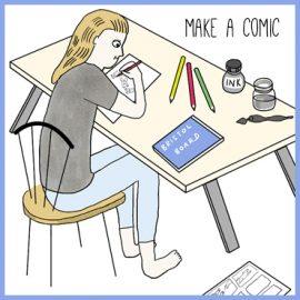 make a comic