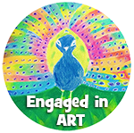 engaged in art logo small, art classes for kids, art classes for kids in redlands, art classes for kids brisbane, engaged in art, engaged in art classes for kids