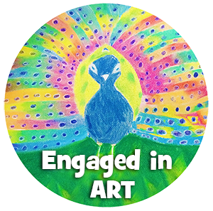 engaged in art logo, art classes for kids, art classes for kids in redlands, art classes for kids brisbane, engaged in art, engaged in art classes for kids